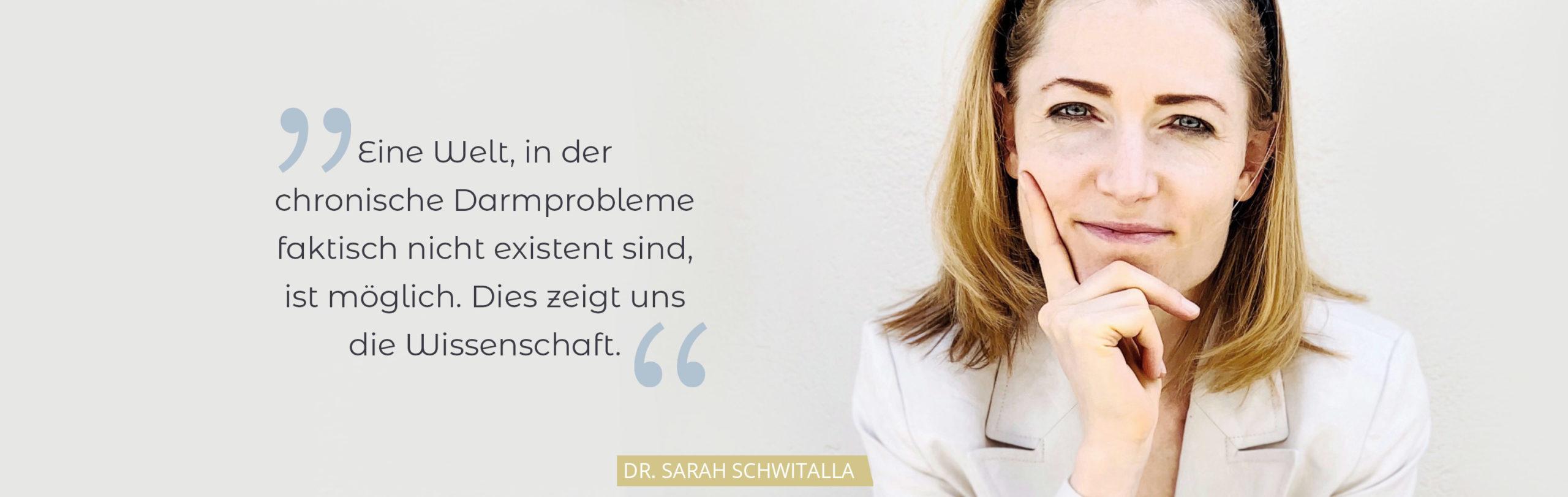Dr Sarah Schwitalla