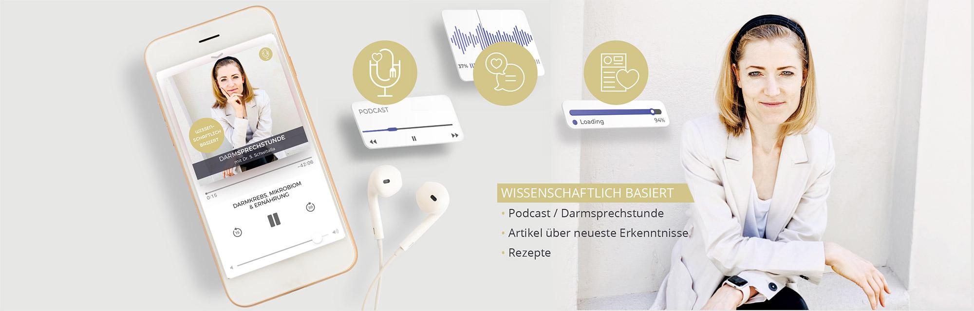 Blog, Podcast & Rezepte